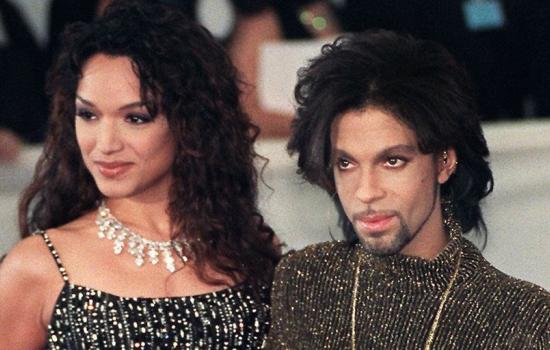 Prince and Mayte Garcia