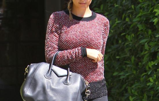 Nicole Richie leaving a salon in September 2012