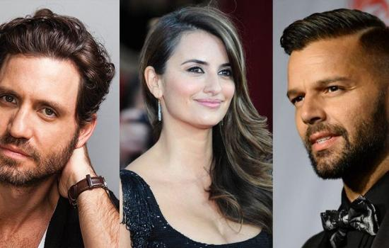 Ricky Martin Edgar Ramirez and Penelope Cruz Versace Movie