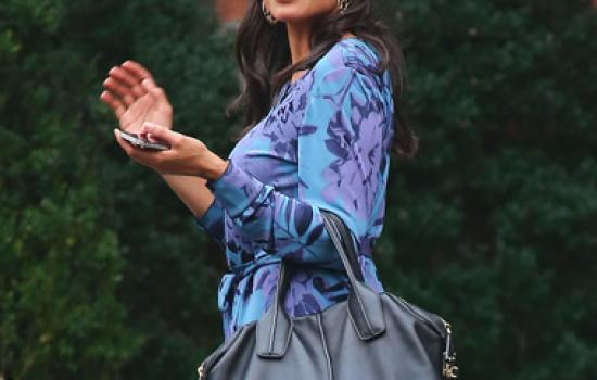 Rosario Dawson in New York City in October 2012