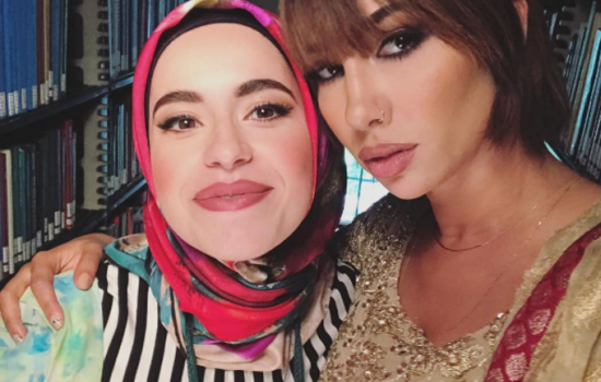 Jackie Cruz and Mona Haydar