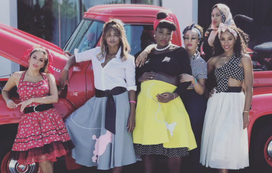 Serene Williams Throws '50s Themed Baby Shower
