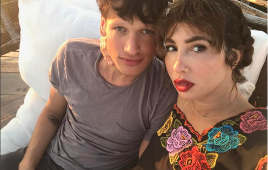 Jackie Cruz and Fernando Garcia