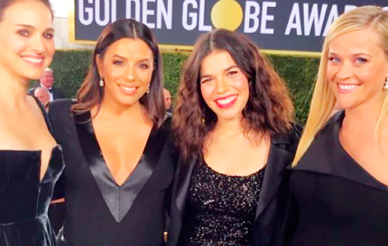 Eva Longoria and America Ferrera rule at the Golden Globes