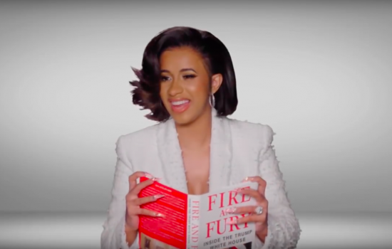 Cardi B Fire and Fury