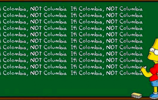 Memes: Colombia vs. Columbia