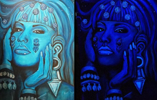 Selena Painted As an Aztec Goddess Is Our Xicana Feminist Dream