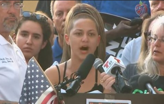 WATCH: Florida School Shooting Survivor, Emma Gonzalez, Goes Viral As She Calls BS On Donald Trump and the NRA