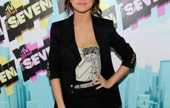 Steal Her Style: Selena Gomez's Cute Cropped Suit