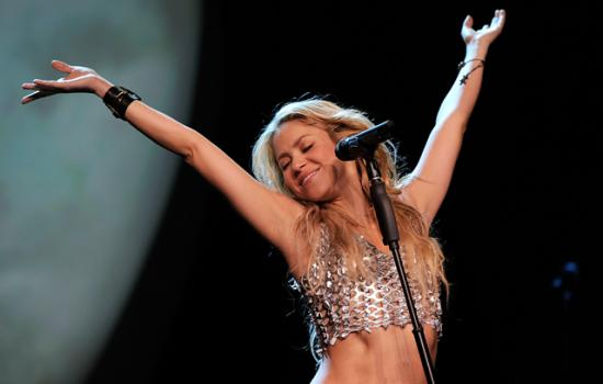 Shakira performs at Madison Square Garden