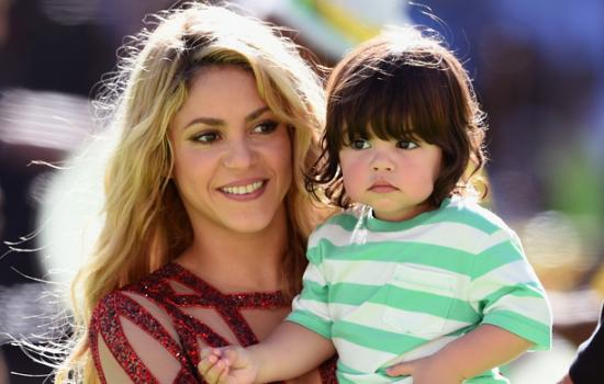 "Shakira posts adorable video of Milan scoring his first ""goal"" for Barca"