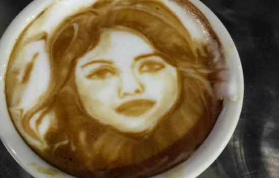 5 Incredible Latte Art Creations of Your Fave Latina Stars