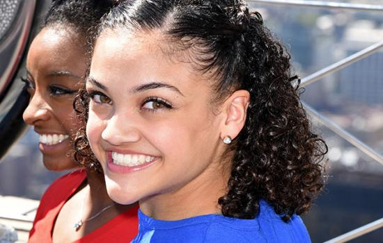 Laurie Hernandez's Best (and Most Death-Defying!) Moments in GIFs