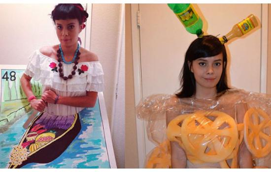 The Internet is Freaking Out Over This Chicana's Halloween Costumes