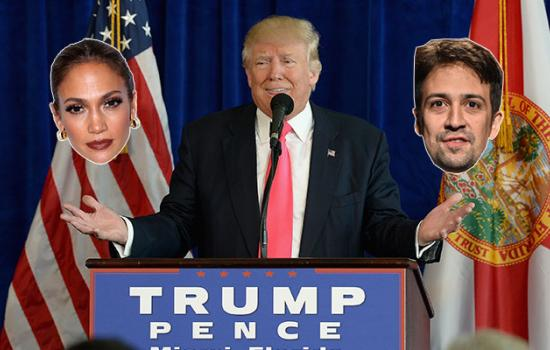 Latina Celebrities React to Donald Trump Being Elected as President