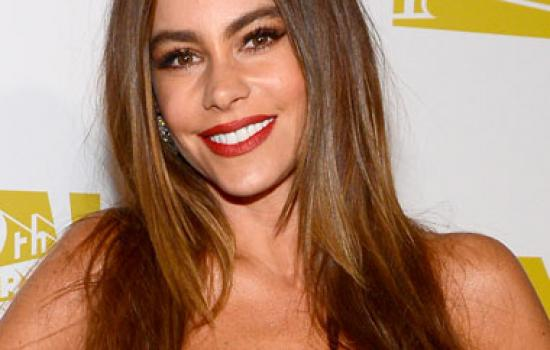 Sofia Vergara at a 2013 Golden Globes after party