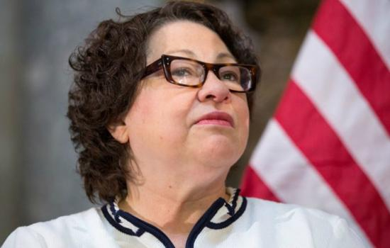 Justice Sonia Sotomayor Protection of Police