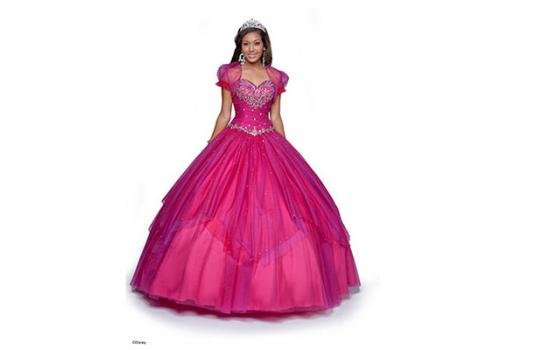 Disney Princess-Inspired Quince Dresses