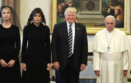 Pope Francis Meets with President Trump