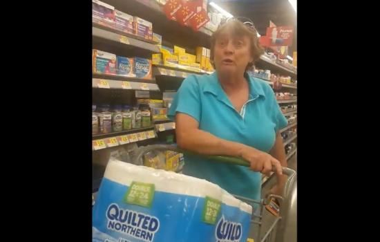 Racist Walmart Shopper